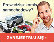 rejestracja dla komisów samochodowych
